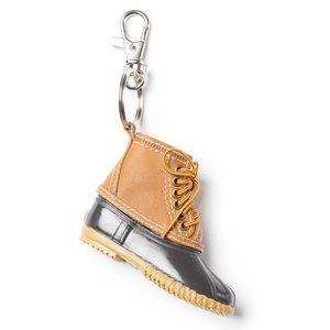 NWT Bass Duck Shoe Keychain